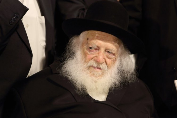 Rabbi Chaim Kanievsky (Flash 90).