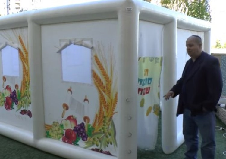 A Kosher Sukkah in 46 Seconds: an Interview with the Inventors