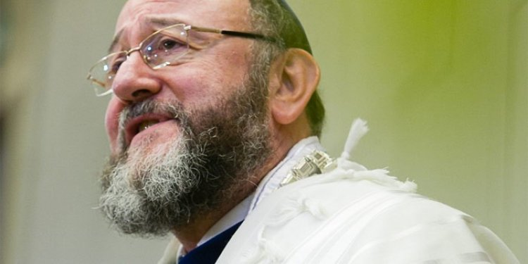 WATCH: Chief Rabbi Mirvis - Is There a Remedy to Anti-Semitism?