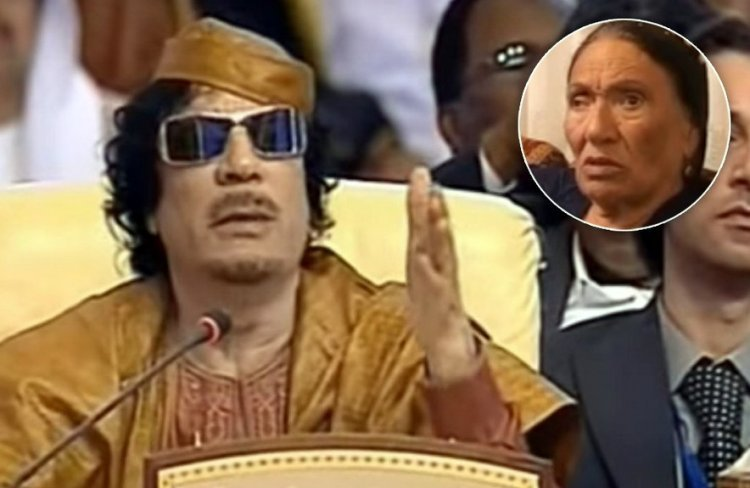 Gaddafi is my Cousin says Elderly Jewish Woman