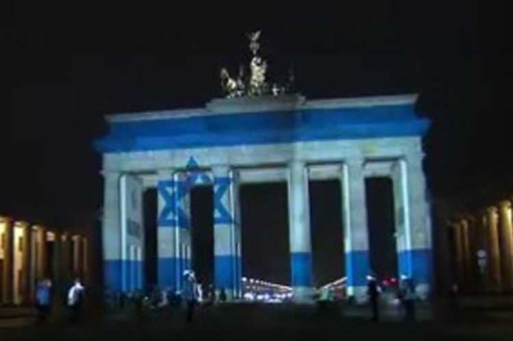 Germany Shows Solidarity with Israel as it Mourns its Terror Victims