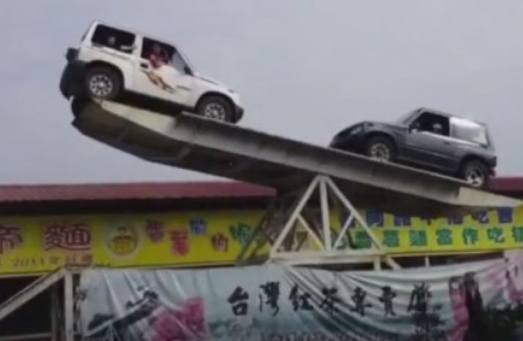 Watch: Parking or Just Having Fun? You Decide!