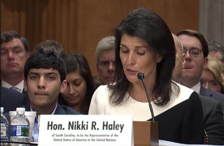 Nikki Haley, New U.S. Ambassador to the UN will defend Israel from UN Onslaught