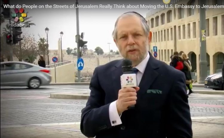 What do People in  Jerusalem Really Think About  the U.S. Embassy Move?