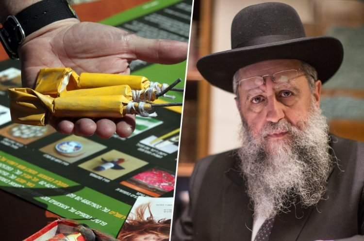 It's a Mitzva to Tell Authorities About Illegal Fireworks Merchants