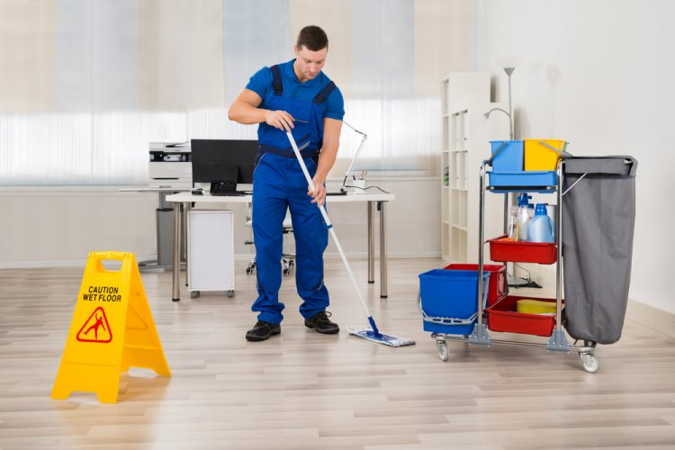 Cleaning Crew/ Shutterstock