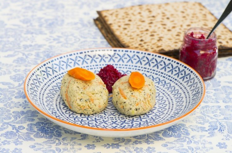 Homemade Gefilte Fish