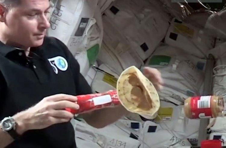 How Do You Make a Sandwich in Outer Space?