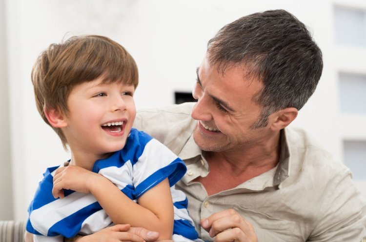 Illustration,Father and Son Shutterstock