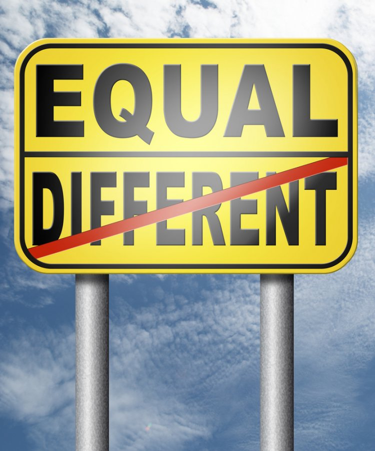 Equal Different / Shutterstock