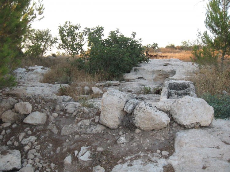 Ancient site / By Ori~ - נוצר על ידי מעלה היצירה, Attribution, https://commons.wikimedia.org/w/index.php?curid=10793663