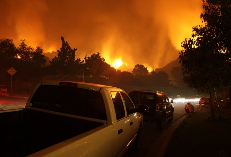 Immenses incendies en Californie