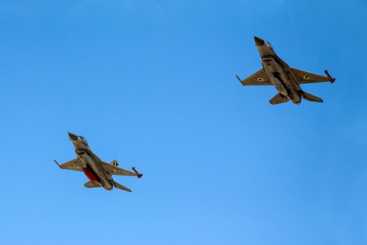 Watch Israeli Air Force Blue Flag Exercise with 8 Guest Nations