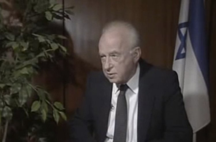 The late Yitzchak Rabin Speaks about his Encounter with the Lubavitcher Rebbe