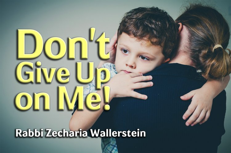 Don't Give Up on Me!