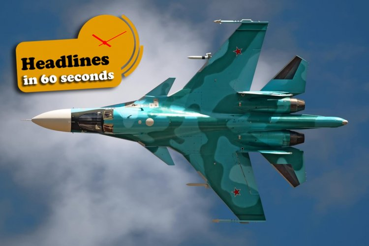 Russian Warplane Shot Down by Rebels in Syria