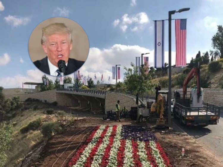 "President Trump ""Embassy Move A Great Day For Israel"""