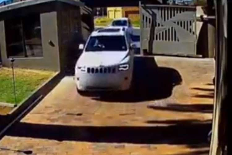 Watch - South African Grandmother  Rams Car into Armed Hijackers