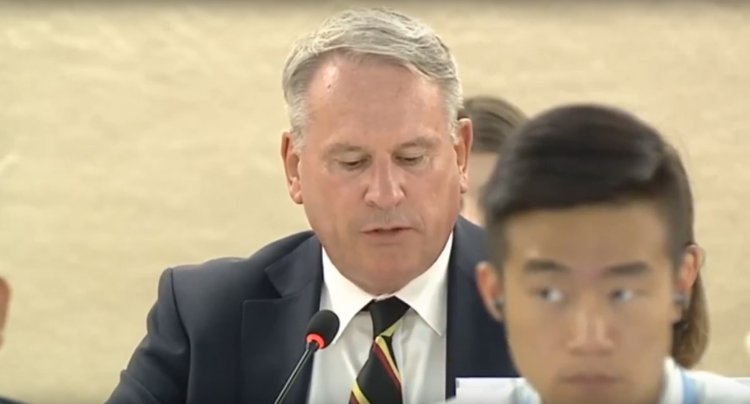 Watch: British Colonel Silences the UN Human Rights Council
