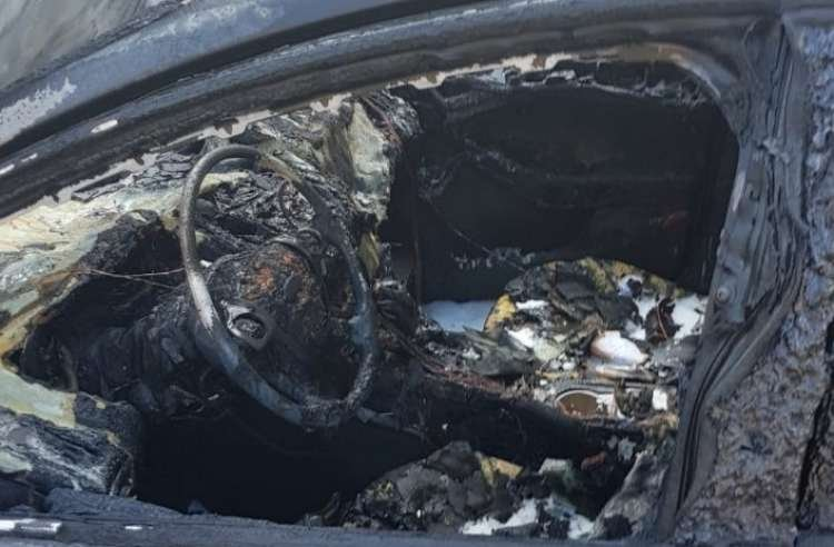 Miracle on the Highway: Car Burns Down While Holy Books Remain Intact