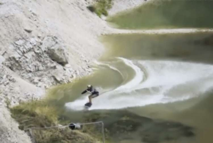 Watch: The Quarry that Became a Surfing Ground
