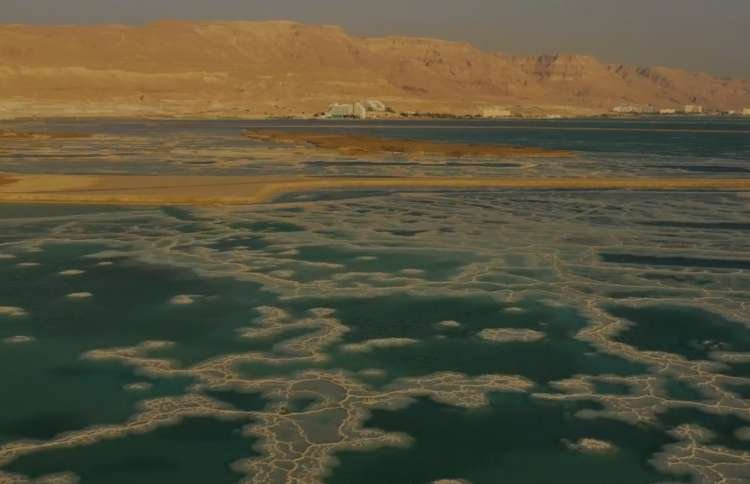 Watch: Spectacular Drone Footage of The Dead Sea at Sunrise