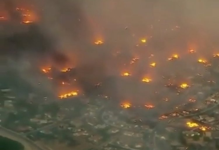 Watch: California Wildfire Beyond Imagination