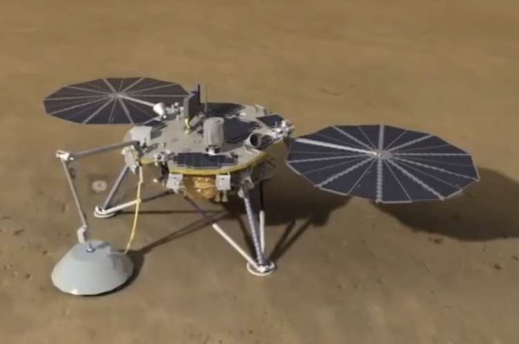 Watch: NASA's Insight Lands on Mars