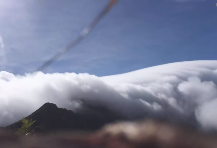 Watch: Carpet of Clouds Covers Vietnamese Mountain