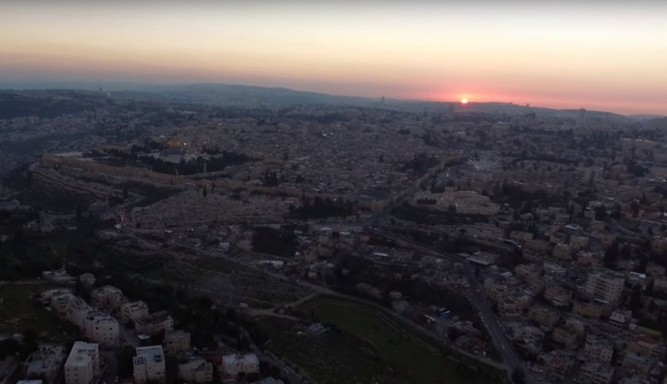 See Stunning Drone Footage of the Old City of Jerusalem