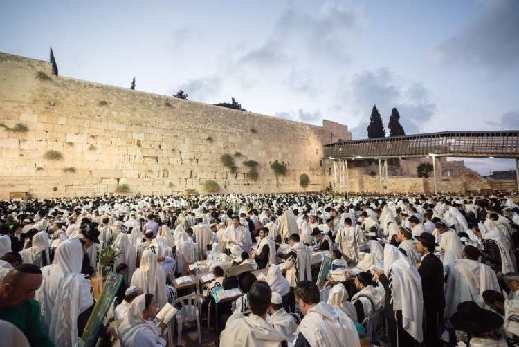 Birkat Kohanim: The Priestly Blessing Live at the Western Wall - Sukkot 2019