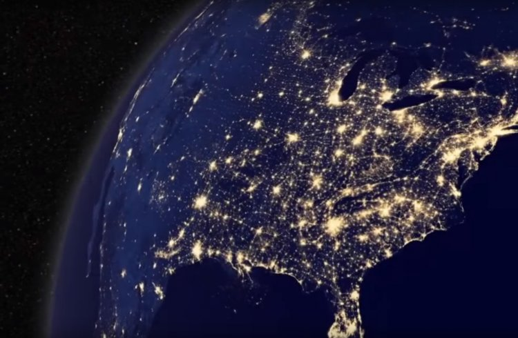 Stunning Footage of Earth at Night - Must See