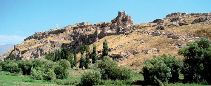 This area was once under Ahasuerus's rule, a place now called Castle Van