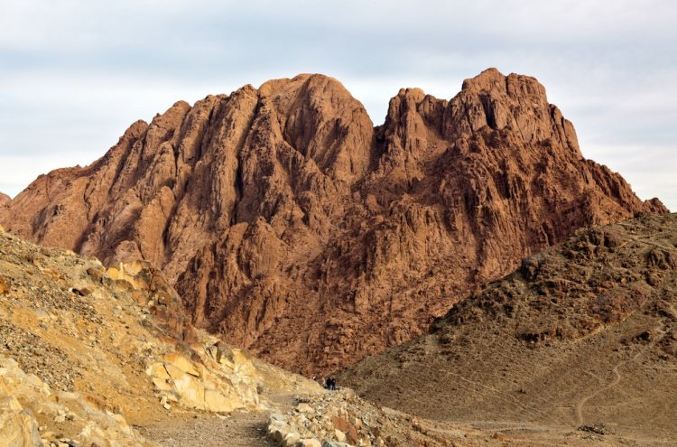 Where is Mount Sinai?